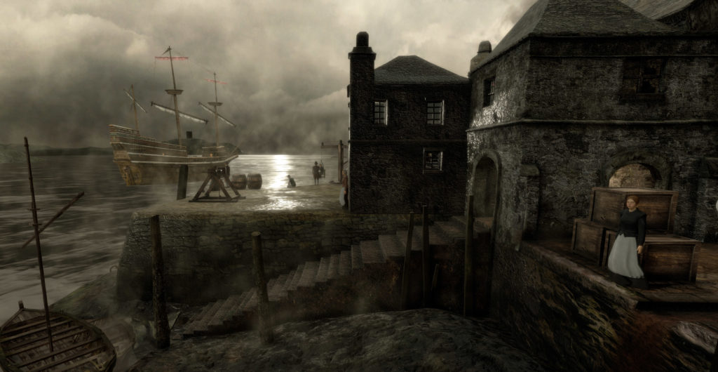 """The Virtual Mayflower and Mayflower Steps – part of a unique project delivered in support of the 2020 400th anniversary of the sailing of the Pilgrims from Plymouth to the """"New World""""."""